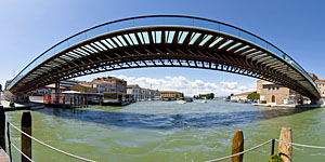 Puente de Calatrava en Venecia