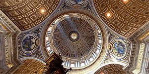 Inspiración divina. Interior de San Pedro