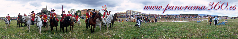 Reenacment of Almansa battle