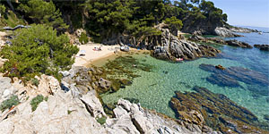 'Cala del Forn' at Costa Brava in Calonge