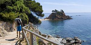 Costa Brava en Platja d'Aro. Cap Roig