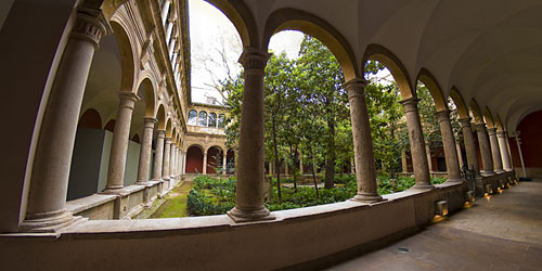 Cloister of the El Carmen covent