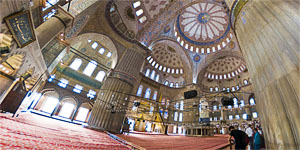 Sultan Ahmed Mosque at Istambul