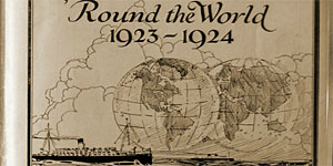 Second Around the World Cruise (1923) and Blasco Ibañez