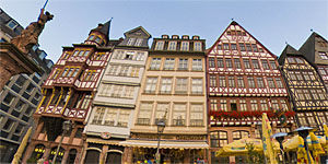 Romer square in Frankfurt