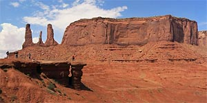 John Ford Point en el Monument Valley
