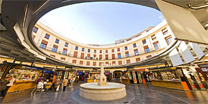 'Plaza Redonda' after the upgrade