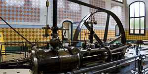 Steam engine of Aymerich mill