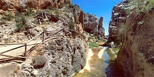 Archy canyon at Calomarde.