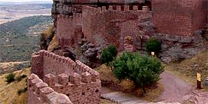 Castillo de Peracense. Vista sur